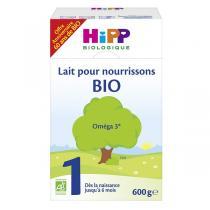 HiPP - Lot 6 x Lait pour nourrissons Bio Hipp 1