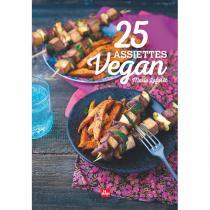 Editions La Plage - Livre  25 assiettes vegan  par Marie Laforêt