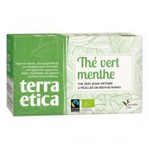 Terra Etica - Thé vert menthe du Vietnam