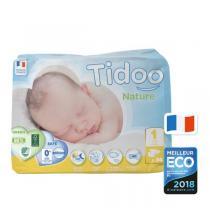 Tidoo - 34 Couches Ecologiques Newborn T1-XS - 2-5kg