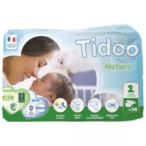 Tidoo - 36 Couches Eco S (T2) 3-6kg