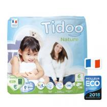 Tidoo - Pack 4x25 Couches Ecologiques T6-XXL - 16-30kg