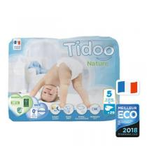 Tidoo - Pack 4x29 Couches Ecologiques T5-XL - 12-25kg