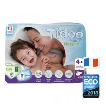 Tidoo - Pack 4x30 Couches Ecologiques T4+L+ - 9-20kg