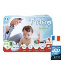 Tidoo - Pack 4x32 Couches Ecologiques T4-L - 7-18kg