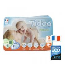 Tidoo - Pack 4x35 Couches Ecologiques T3-M - 4-9kg