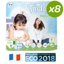 Tidoo - Pack 8x25 Couches XXL T6 16-30kg