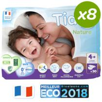 Tidoo - Pack 8x30 Couches L+ T4+ 9-20kg