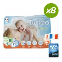 Tidoo - Pack 8x35 Couches Ecologiques T3-M - 4-9kg