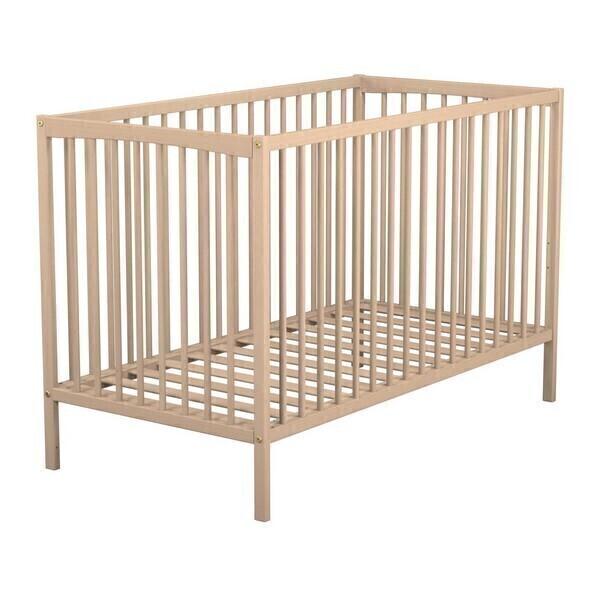 lit bebe bio bois. Black Bedroom Furniture Sets. Home Design Ideas