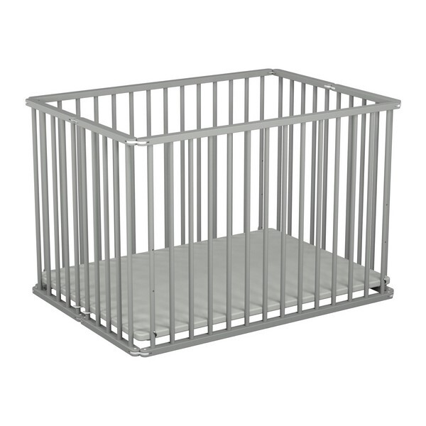 parc pliant gris at4 la r f rence bien. Black Bedroom Furniture Sets. Home Design Ideas