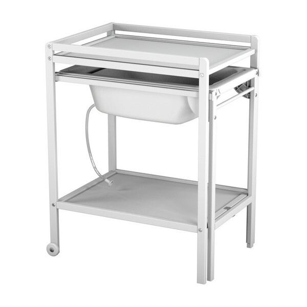 AT4 - Table à langer + baignoire - Blanc