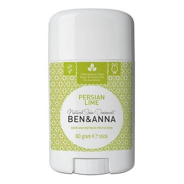Ben & Anna - Déodorant citron vert - stick 60g