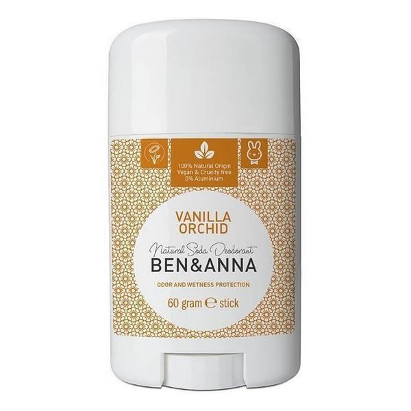 Ben & Anna - Déodorant Vanille - stick 60g
