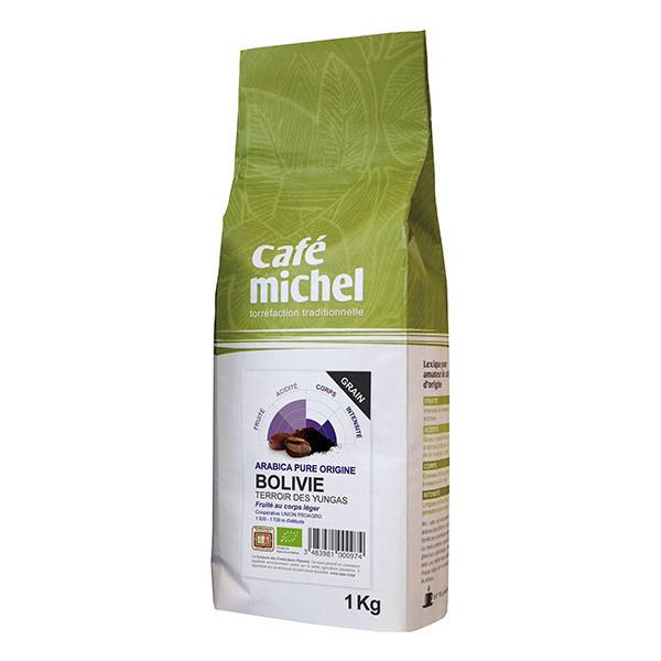 Café Michel - Café en grains Bolivie Arabica 1kg