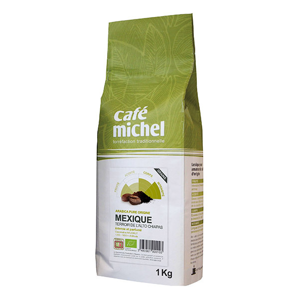 Café Michel - Café en grains  Mexique Alto Chiapas 1kg