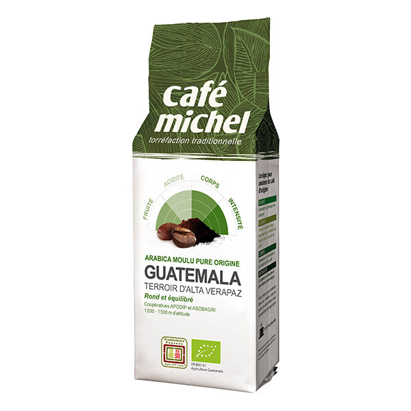 Café Michel - Café moulu Guatémala Alta Verapaz 250g