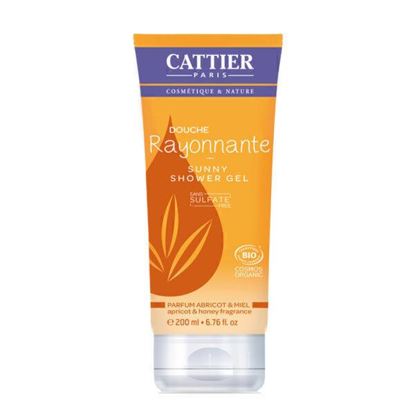 Cattier - Douche rayonnante abricot et miel 200ml