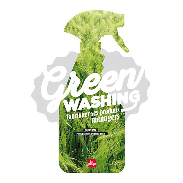 Editions La Plage - Greenwashing - Livre de Cécile Berg