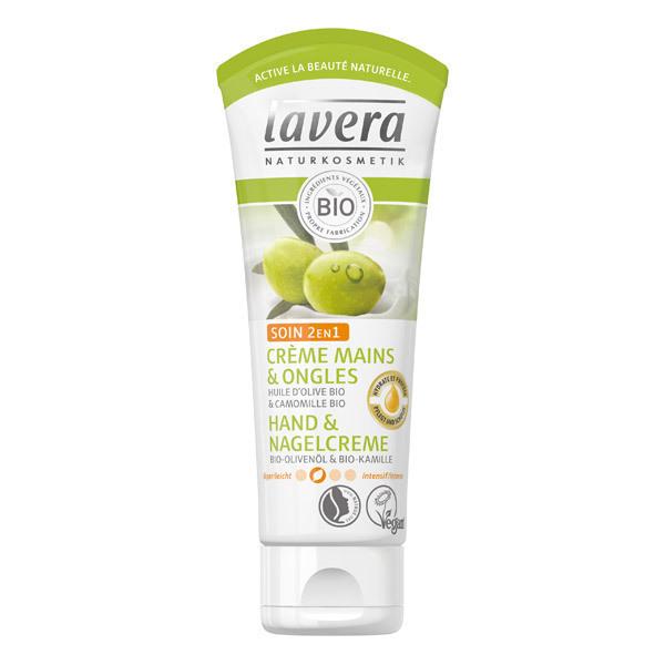 Lavera - Crème mains et ongles soin 2 en 1 - 75 mL