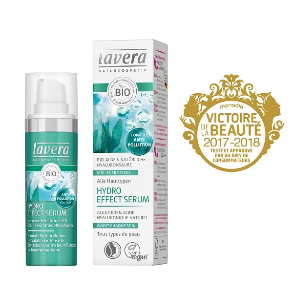 Lavera - Hydro Effect Serum - Sérum hydratant anti-pollution - 30 mL
