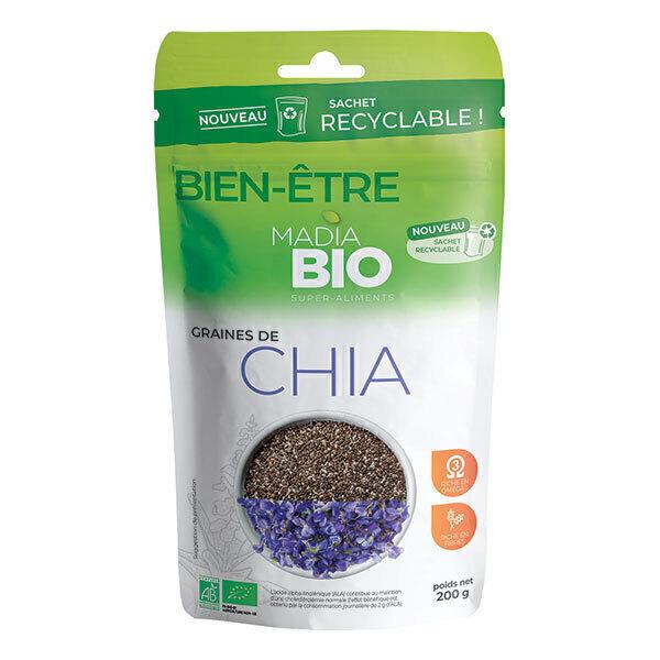 Madia Bio - Graines de chia bio 200gr