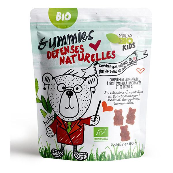 Madia Bio Kids - Gummies Défenses Naturelles bio 60g