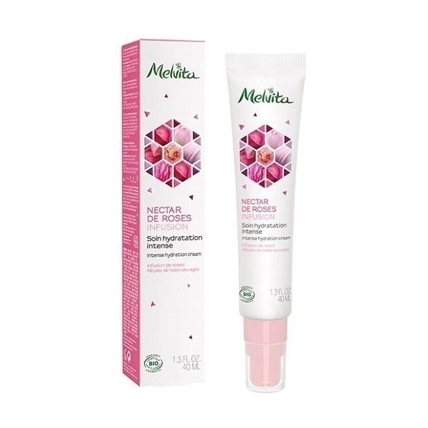 Melvita - Soin de jour hydratation intense Nectar de Rose 40ml