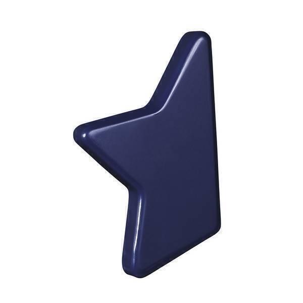 Sauthon - Bouton étoile Nova - Bleu