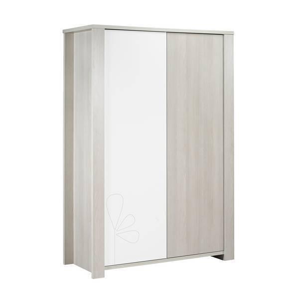 Sauthon - Armoire Opale Avec motif - 2 portes