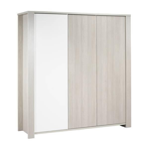 Sauthon - Armoire Opale Sans motif - 3 portes