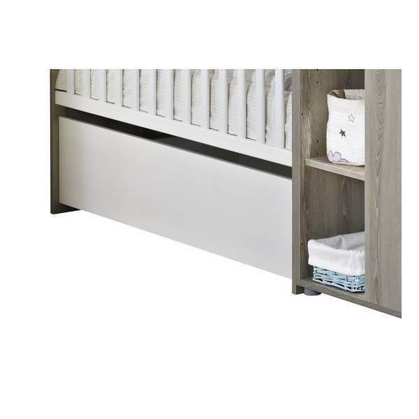 tiroir pour lit volutif na l 120x60cm en 90x190cm sauthon la r f rence bien. Black Bedroom Furniture Sets. Home Design Ideas