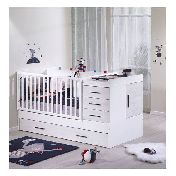 tiroir lit gigogne zen rivage 90x190cm sauthon la r f rence bien tre bio b b. Black Bedroom Furniture Sets. Home Design Ideas