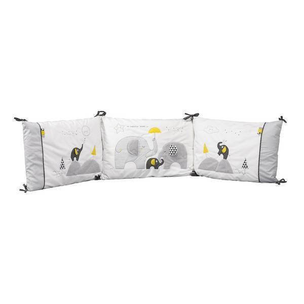 tour de lit d houssable babyfan sauthon la r f rence bien tre bio b b. Black Bedroom Furniture Sets. Home Design Ideas