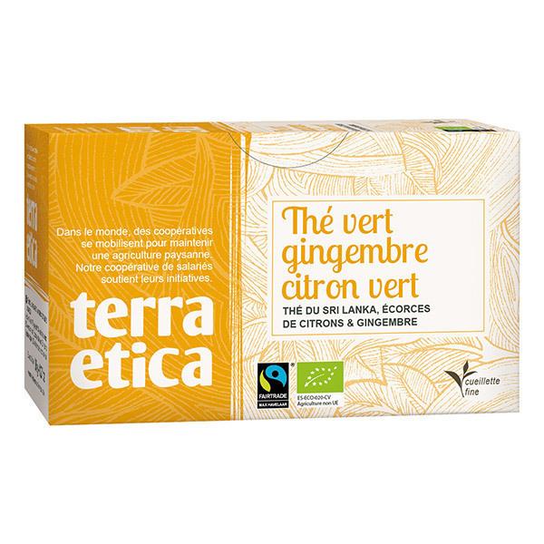 Terra Etica - Thé vert gingembre citron vert