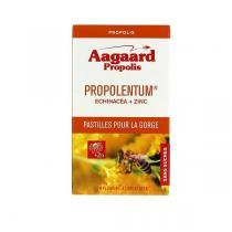 Aagaard Propolis - Propolentum Echinacea Zinc - 60 pastilles