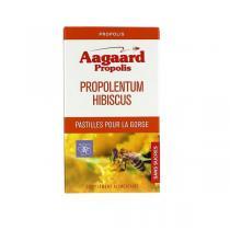 Aagaard Propolis - Propolentum Hibiscus - 30 pastilles