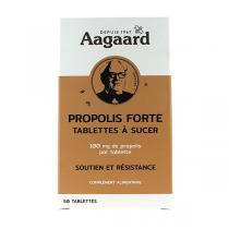 Aagaard Propolis - Tablettes de Propolis forte à sucer x50