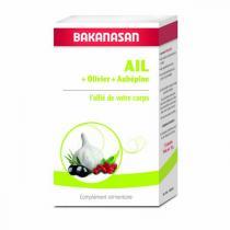 Bakanasan - Ail Olivier Aubépine - 72 capsules