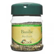 Cook - Basilic en feuilles bio - 30 g