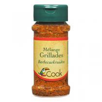Cook - Mélange Grillades bio - 35 g
