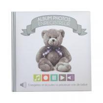 Doux Nid - Album photos enregistreur Ourson blanc
