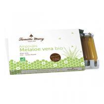 Famille Mary - Ampoule melaloe vera bio 10 ampoules