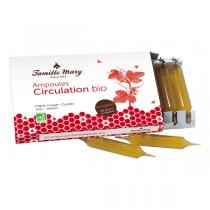 Famille Mary - Ampoules circulation bio 10 ampoules