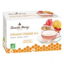 Famille Mary - Infusion vitalité bio 20 sachets