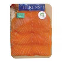 Herens - Saumon fumé 4 tranches Bio - 160g