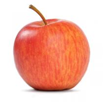 Les Paysans Bio - Pomme Bicolore Akane France bio - Vendue à l'unité