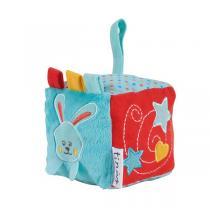 Tinéo - Cube d'Eveil Circus - bleu rouge