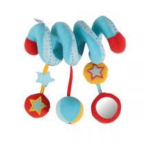Tinéo - Spirale d'activités Circus bleu rouge