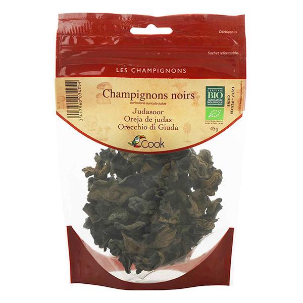Cook - Champignons noirs séchés bio 45g
